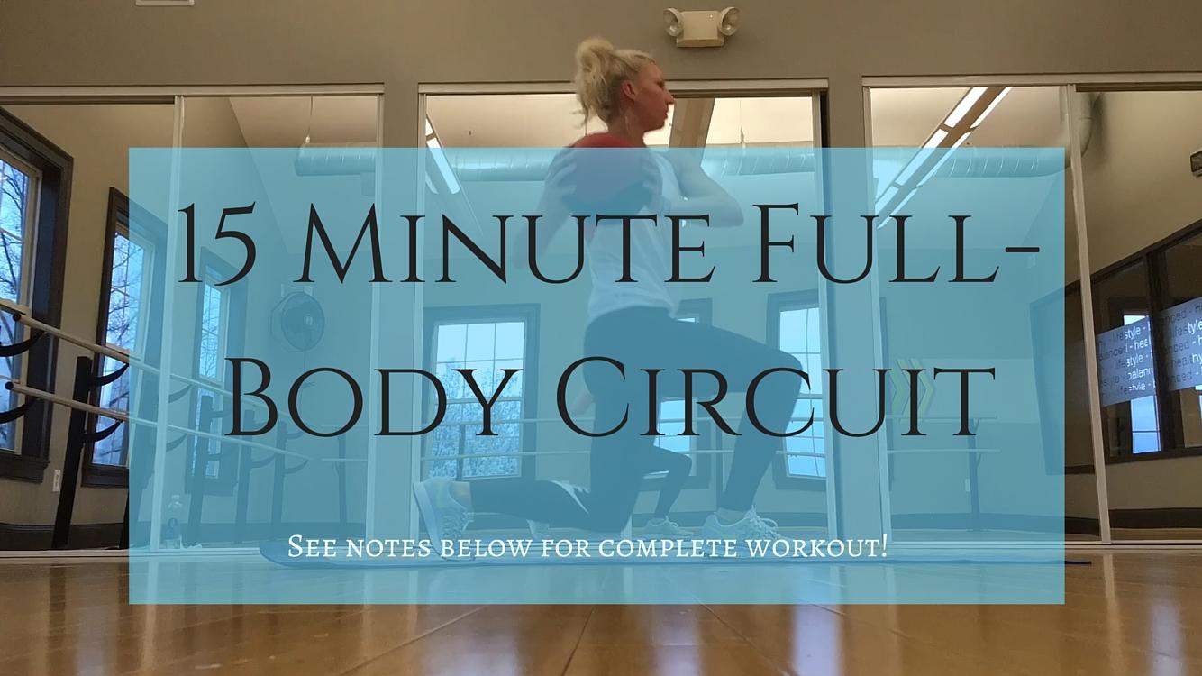 Nina Elise Youtube image- 15 Minute Full-Body Circuit
