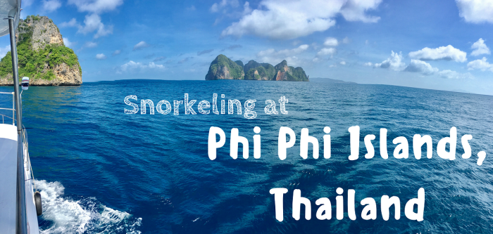 snorkeling phi phi island thailand