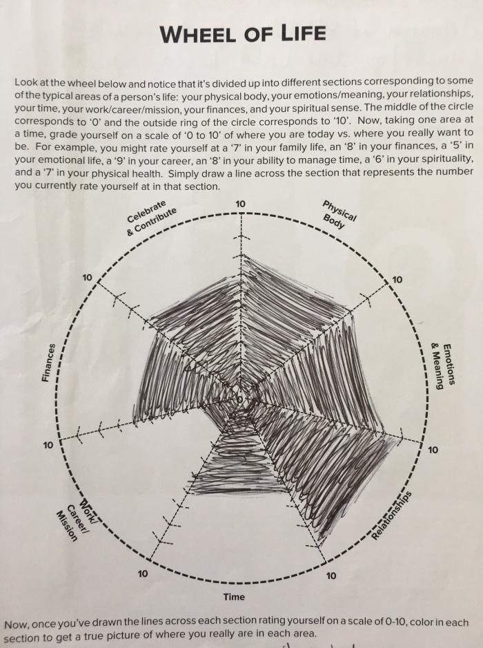 Wheel of Life, Tony Robbins